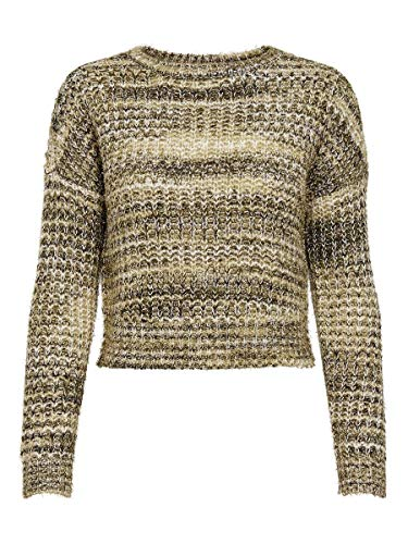 Only Onldisco L/S Pullover Knt Suter Pulver para Mujer