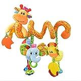 HENGSONG Baby Spirale Plüschtiere, Kleinkindspielzeug, Beschwichtigen Schlaf Spielzeug, Babyschale...