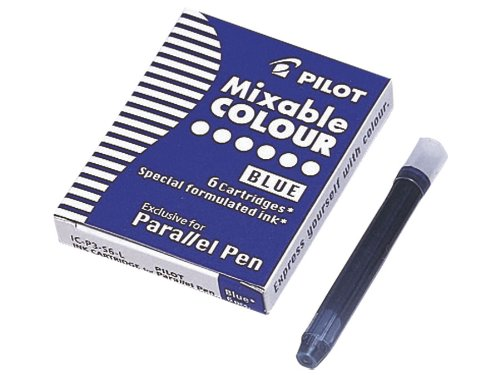 Pilot Set of 6 Cartridges for Parallel Pen 6pezzo(i) ricaricatore di penna