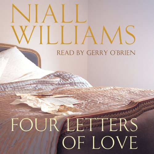 Four Letters of Love audiobook cover art