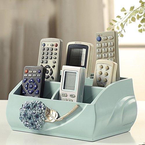 Creative Boîte de rangement de bureau Boîte de rangement de télécommande Boîte de rangement européenne de cosmétiques Boîtes de finition (couleur : B)