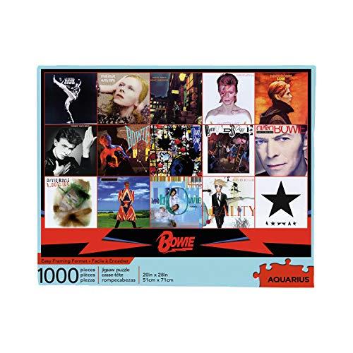 Aquarius David BowieAlbums 1000 Pc Jigsaw Puzzle, Multi Colored (65330)