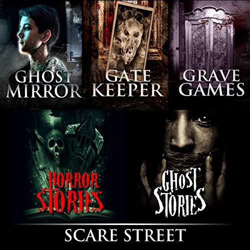 Ghost Mirror Series Books 1 - 3 audiobook cover art