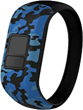 iBREK for Garmin Vivofit jr/jr 2/3 Bands, Silicone Stretchy Replacement Watch Bands for Kids Boys Girls Small Large(No Tracker)
