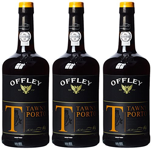 Offley Tawny Port, 19,5 % vol, 3er Pack (3 x 750 ml)