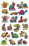 AVERY Zweckform 53340 Kinder Sticker Schildkröten 36 Aufkleber
