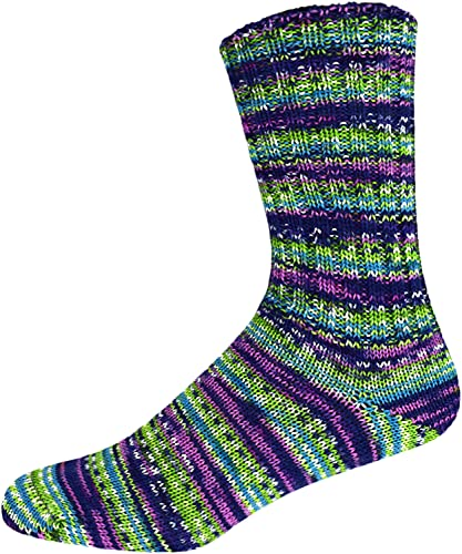 ONline Supersocke 100 315 Anden Color 2686 - Calcetines (100 g, 420 m aprox.), color rojo