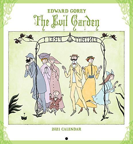 Gorey, E: Edward Gorey the Evil Garden 2021 Mini Calendar
