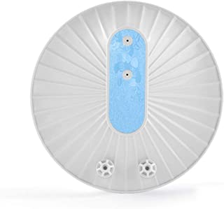 Xu-dishwasher Hogar Ultra pequeño lavavajillas, hortalizas Fruit portátil Lavadora, Placa Limpiador for Taza del Plato eficiente de la energía de Ruido Diseño de Baja (Color : White+Blue)