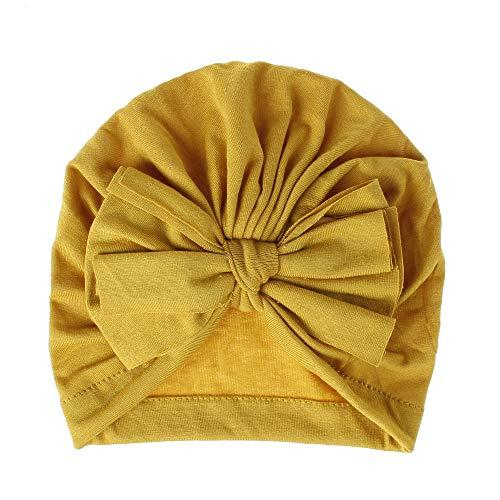 WOAIMAOZI Chapeau De Bébé Bonnet De Coton Tricoté Chapeau Fœtal Arc Chapeau Enfants Accessoires Populaires