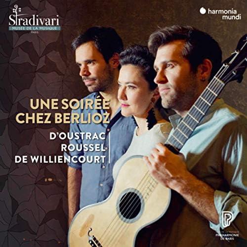 Stéphanie D'Oustrac, Tanguy de Williencourt & Thibaut Roussel