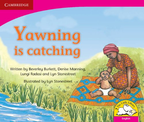 Yawning is catching (English) (Little Library Literacy)