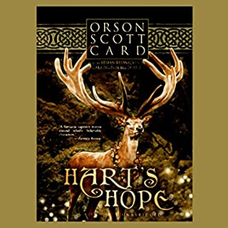 Hart's Hope                    By:                                                                                                                                 Orson Scott Card                               Narrated by:                                                                                                                                 Stefan Rudnicki,                                                                                        Carrington Macduffie                      Length: 10 hrs and 59 mins     200 ratings     Overall 3.7