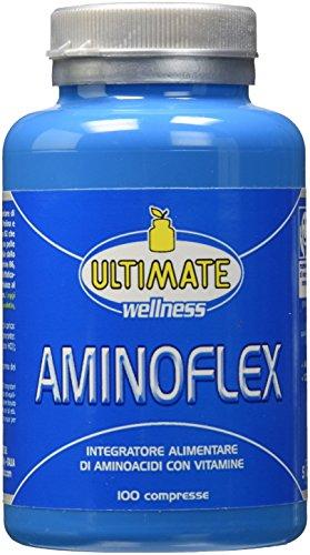 Ultimate Italia Aminoflex - Aminoacidi con Vitamine - 100 cpr