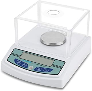 LEADZM High Precision Lab Experiment Electronic Balance Laboratory Lab Scale Precision 0.001g Jewelry Scale