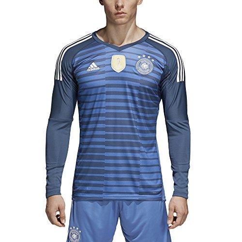 adidas Herren DFB Torwart WM 2018 Heim Langarm-Trikot, Trace Royal/Sub Blue/White, M