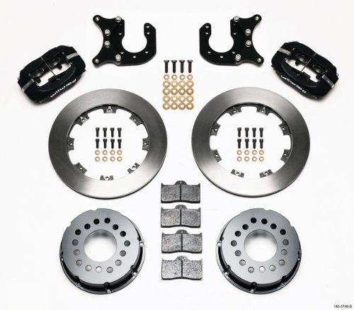 Lowest Price! Wilwood 140-5746-B FDL Rear Brake Kit