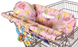 Leachco Prop 'R Shopper Body Fit Shopping Cart Cover, Pink Forest Frolics