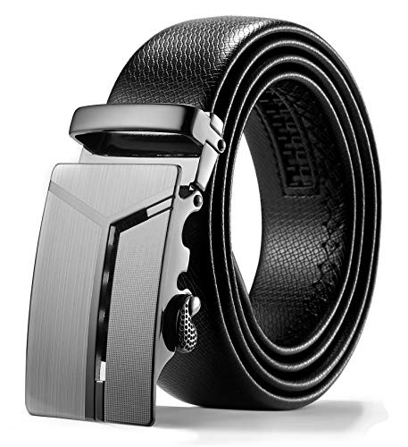 ITIEZY Herren Gürtel Ratsche Automatik Gürtel für Männer Ledergürtel Breit 35mm Länge 110cm