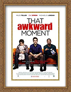 That Awkward Moment 28x36 Double Matted Large Gold Ornate Framed Movie Poster Art Print