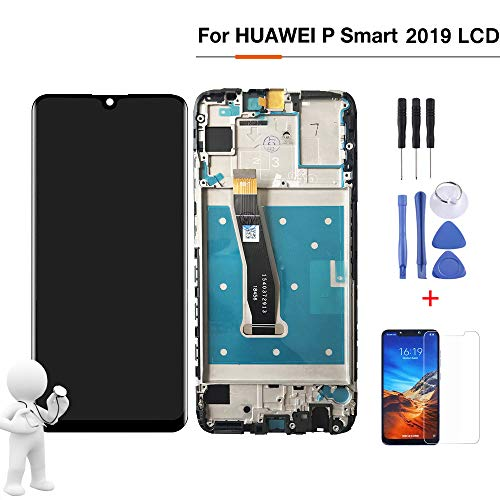 "FONCBIEN Huawei P Smart 2019 Pantalla LCD - Pantalla LCD de 6.21""De 10 Toques para Huawei P Smart 2019 Pantalla LCD"