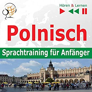 Polnisch Sprachtraining fur Anfänger. 30 Alltagsthemen auf Niveau A1-A2 Titelbild