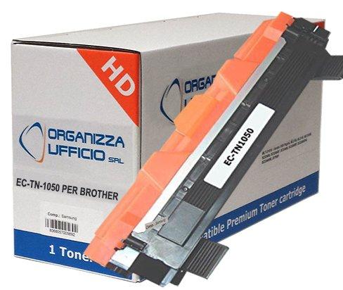 Organizza Ufficio Toner Compatibile con Brother DCP-1510, DCP-1512, HL-1110, HL-1112, MFC-1810, MFC-1910, I-TN1050 XL Durata: 1.000 Pagine.