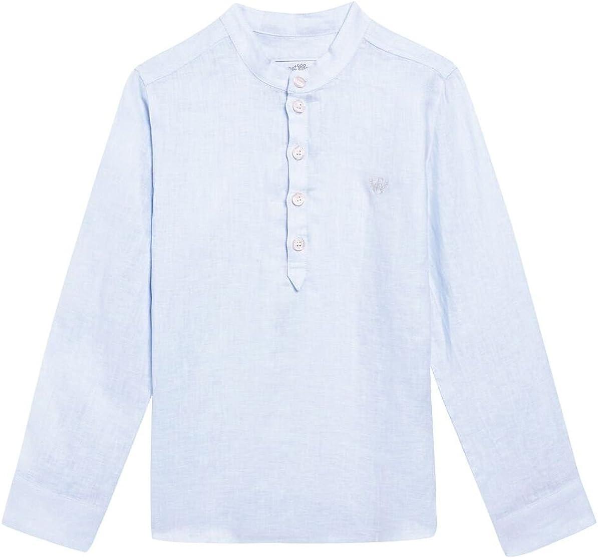 Tartine et Chocolat Boys Linen Shirt