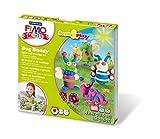 Staedtler 8034 22 LY. Pasta de modelar para niños Fimo Kids Form & Play Bug Buddy. 4 pastillas de 42 gramos.