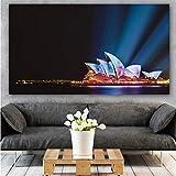 NIMCG Affiche Paysage Affiches Et Gravures Mur Art Toile Peinture Mur Photos pour Le...