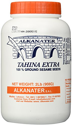 Alkanater Tahina Extra Seame Paste 2 Lb (32 Oz)