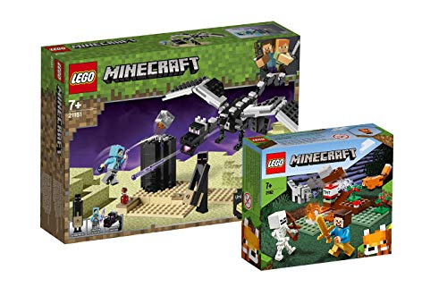 Collectix Lego Minecraft - Set: 21151 Das letzte Gefecht + 21162 Das Taiga-Abenteuer
