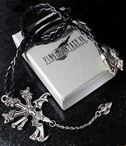 Final Fantasy VII Colar do Vincent | FF7 Dissidia Cosplay Squall Griever Sephiroth