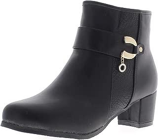 Stivali sguardo di 10cm grandi donne nero brillante con