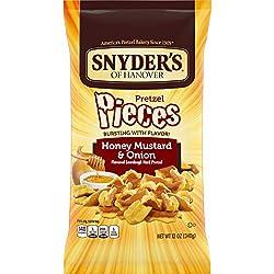 Snyder's of Hanover Pretzel Pieces, Honey Mustard & Onion, 12 Oz