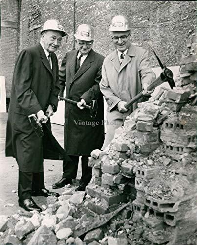 WonderClub Vintage Photos 1964 Press Photo Politics Mayor Vavoulis Conrad Hilton Hotel Paul Chamber 8.5