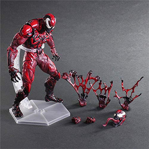 Toy Statues PA Cambio Serie Spiderman Enemigo Carnage Animados Carácter Modelo - Figuras Juegos Infantiles