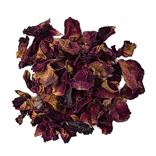 JustIngredients Essential Pétalos de Rosa Roja - 250 gr