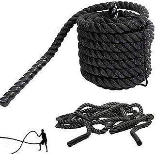 "1.5"" X 30Ft Professional Lightweight Fitness Rope Black JoyBuySaudi"