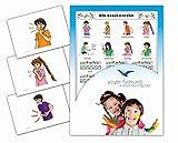Yo-Yee Flashcards Bildkarten zur Sprachförderung – Körper / Beschwerden / Schmerzen - Für Kinder und Erwachsene in Kita, Kindergarten, Grundschule, Logopädie, Autismus, Demenz und...