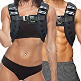 TNT Pro Series Iron Weighted Vest for Men and Women - Evenly Distributed Iron Filled Light Weight Vest for Maximum Performance and Comfort - 11 lbs …