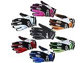 Wulfsport Stratos Motocross-Handschuhe für Erwachsene und Kinder, Motocross-Sport, Offroad-Trials, Enduro, Quad, Kart Dirtbike, Fahrrad, ATV, MTB, BMX, Rennen, Erwachsene und Kinder (schwarz, XS)
