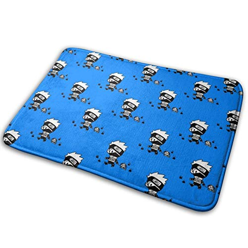Anime Naruto Kakashi Bathroom Kitchen Mat Se Slip Absorbent Mats, Filoor Mat Exquisite Floor Mats 16 X 24 In£¨40 X 60 CM£