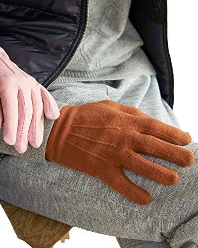 [ドゥクラッセ]Doガード・抗ウイルス保湿手袋/メンズ (13059) Fブラウン