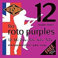 Rotosound ロトサウンド エレキギター弦 Nickel on Steel/Medium Heavy (.012-.052) R12