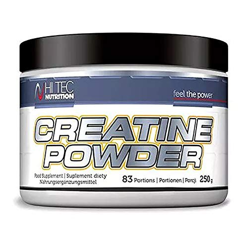 Hi Tec Creatine Monohydrate Powder 250g | Unflavored Anabolic Powder for Muscle Development | Anabolic & Anticatabolic | Food Supplement