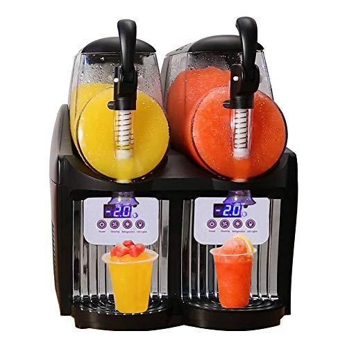Maccol 110V 300W Home Machine 2.5Lx2 Double Tank Smoothie Maker, Mini Slushy Frozen Drink Machine...
