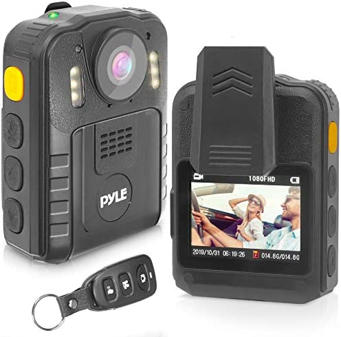 Police Security Video Body Camera HD 2304x1296p 36MP Rechargeable Wireless Waterproof Wearable product image