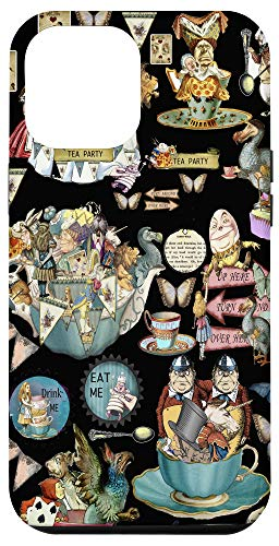 iPhone 12 Pro Max Alice in Wonderland collage Case