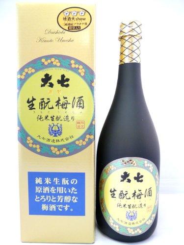 大七酒造『生もと梅酒』
